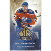 2015/16 Upper Deck SP Authentic Hockey Hobby Box