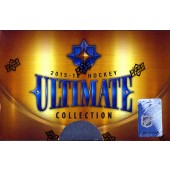 2015/16 Upper Deck Ultimate Collection Hockey Hobby 5 Box Case