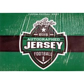 2015 Leaf Autographed Football Jersey Edition Football Box