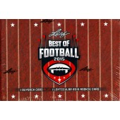 2015 Leaf Best of Football 4 Box Case