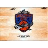 2015 Leaf Greatest Hits Basketball Hobby 2 Box Case