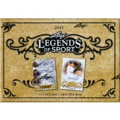 2015 Leaf Legends of Sport Trading Cards 10 Box Case