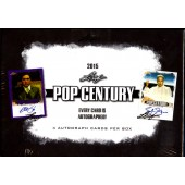 2015 Leaf Pop Century Trading Cards Box