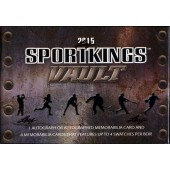 2015 Leaf Sportkings Vault 10 Box Case
