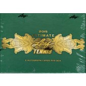 2015 Leaf Ultimate Tennis Hobby 12 Box Case