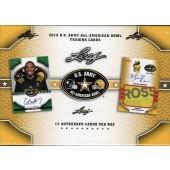 2015 Leaf US Army All American Football 12 Box Case