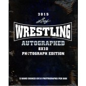 2015 Leaf Wrestling Signed 8x10 Photograph Edition Box