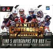 2015 Panini Contenders Football Hobby Box