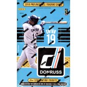 2015 Panini Donruss Baseball Hobby 16 Box Case