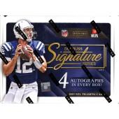 2015 Panini Donruss Signature Series Football Hobby 16 Box Case