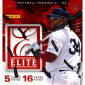 2015 Panini Elite Baseball Hobby 12 Box Case