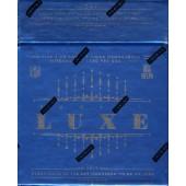 2015 Panini Luxe Football Hobby 5 Box Case