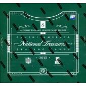 2015 Panini National Treasures Football Hobby 4 Box Case