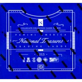 2015 Panini National Treasures Multisport Hobby 4 Box Case