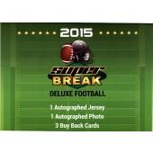 2015 Super Break Football Deluxe Edition 2 Box Case