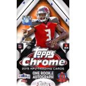2015 Topps Chrome Football Hobby 12 Box Case