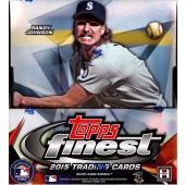 2015 Topps Finest Baseball Hobby 8 Box Case