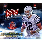 2015 Topps Football Jumbo HTA Box