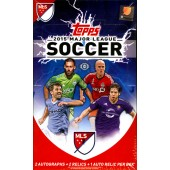 2015 Topps MLS Soccer 12 Box Case
