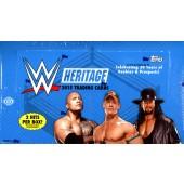 2015 Topps WWE Heritage Wrestling Hobby 12 Box Case