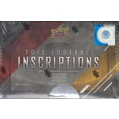 2015 Upper Deck Inscriptions Hobby Football Box