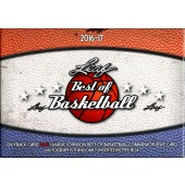 2016/17 Leaf Best of Basketball 5 Box Case