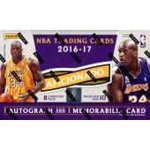 2016/17 Panini Aficionado Basketball 12 Box Case + 24 Panini Day Packs