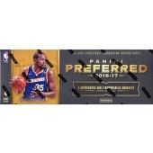 2016/17 Panini Preferred Basketball Hobby 8 Box Case
