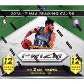 2016/17 Panini Prizm Basketball Jumbo Box