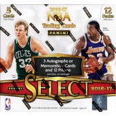 2016/17 Panini Select Basketball Hobby 12 Box Case