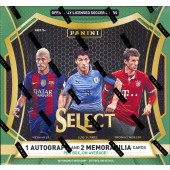 2016/17 Panini Select Soccer Hobby 12 Box Case
