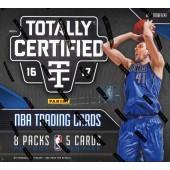 2016/17 Panini Totally Certified Basketball Hobby 16 Box Case