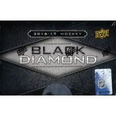 2016/17 Upper Deck Black Diamond Hockey Hobby Box