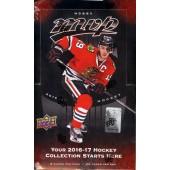 2016/17 Upper Deck MVP Hockey Box