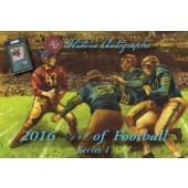 2016 Historic Autograph Art of Football Box