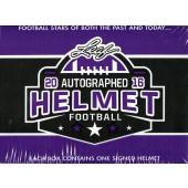 2016 Leaf Autographed Full Sized Helmet Football Box