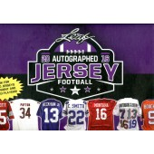 2016 Leaf Autographed Jersey Edition Football 8 Box Case