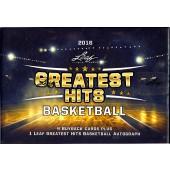 2016 Leaf Greatest Hits Basketball Box