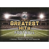 2016 Leaf Greatest Hits Football 2 Box Case