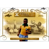 2016 Leaf Pele Immortal Collection 5 Box Case