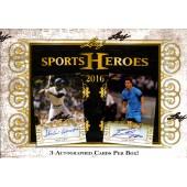 2016 Leaf Sports Heroes Hobby Box
