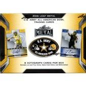 2016 Leaf Metal US Army All-American Bowl Football Box