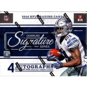 2016 Panini Donruss Signature Series Football Hobby 8 Box Case