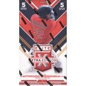 2016 Panini Elite Extra Edition Baseball Hobby 20 Box Case