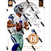 2016 Panini Encased Football Hobby 8 Box Case