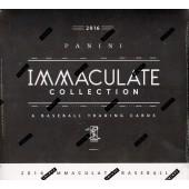 2016 Panini Immaculate Baseball Hobby 8 Box Case