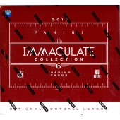 2016 Panini Immaculate Football Hobby 6 Box Case