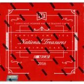 2016 Panini National Treasures Racing Hobby 4 Box Case