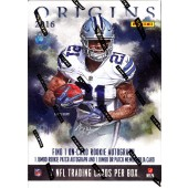 2016 Panini Origins Football Hobby 16 Box Case