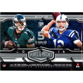 2016 Panini Plates & Patches Football Hobby 12 Box Case